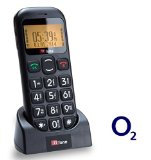 TTfone Jupiter O2 Pay As You Go Big Button Easy Senior Mobile Phone with SOS Panic Button and Large Display