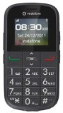 Vodafone 155 Big Button Easy to use Senior / Pay as you go / Pre-Pay / PAYG / Mobile Phone / SOS button and large easy to read Display – Black