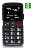 TTfone Dual 2 – Senior Mobile Phone Big Buttons SOS Button Large Display Dual Sim (EE Pay as you go)