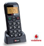 TTfone Jupiter Big Button Easy Senior Mobile Phone SOS Panic Button (Vodafone PAYG with £10 Credit)