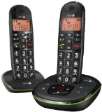 Doro Phone EASY 105WR DUO Cordless Phone with Answering Machine ( DECT,Hands Free Functionality, Low Radiation, Elderly Friendly Phone )