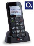 TTfone SaturnO2 Pay As You Go Big Button Senior Bluetooth Sim Free Mobile Phone with Camera and Dock – Black