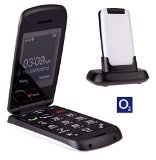 TTfone Star Big Button Simple Easy To Use Clamshell Flip Mobile Phone with O2 Pay as You Go – White