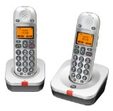 Audioline Bigtel 202 Cordless Phone ( DECT,Hands Free Functionality, Low Radiation, Elderly Friendly Phone )