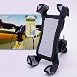 m-one for – Huawei Mate 8 – Bike, Bicycle, Motorcycle & Scooter Smartphone Universal Bicycle Stand 360 Degree Rotating Mobile Phone Mount Holder (CAN BE USED WITH PHONE CASE)